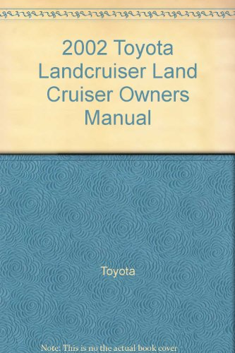 Toyota Land cruiser owners manual