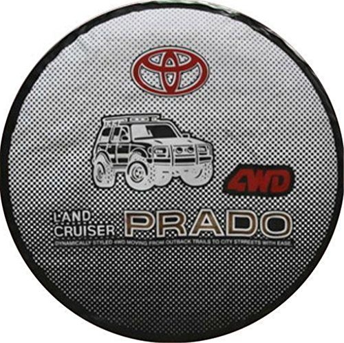 1982 toyota land cruiser fj60 electrical wiring diagram original 4 car styling 17 inch pvc spare tyre cover spare wheel cover for toyota land cruiser prado