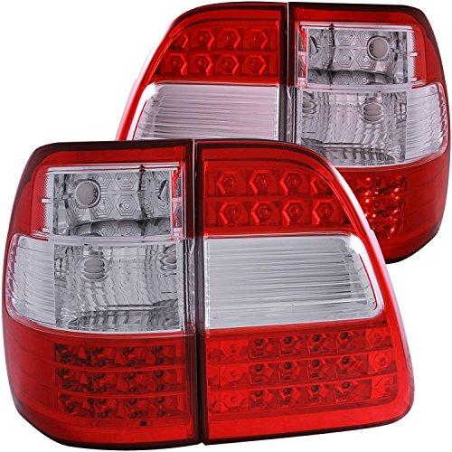 Land Cruiser 100 Wiring Diagram: 1998-2005 TOYOTA LAND CRUISER FJ100 RED LED TAIL LIGHTS
