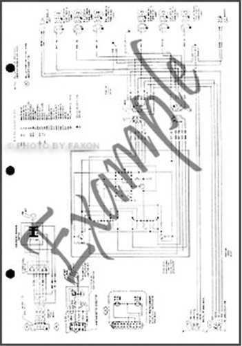 1976 Toyota Land Cruiser FJ55 4door Electrical Wiring Diagram