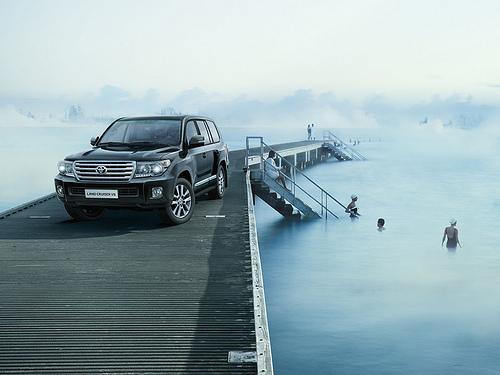 Toyota Land Cruiser offroad