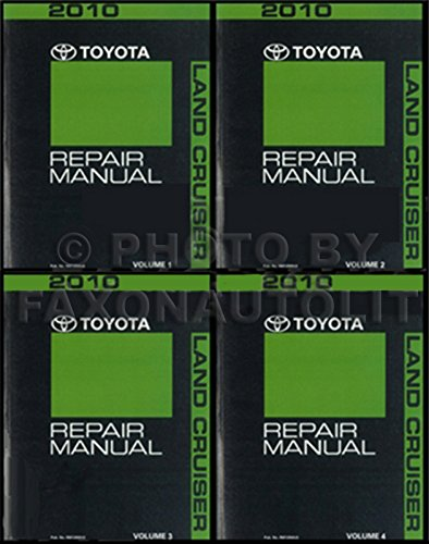 Toyota Land cruiser shop manual